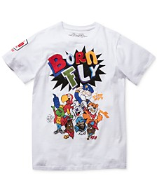 Born Fly Men's Big & Tall Logo Graphic T-Shirt