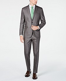 Unlisted Men's Slim-Fit Plaid Suit