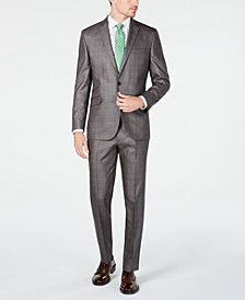 Kenneth Cole Unlisted Men's Slim-Fit Plaid Suit