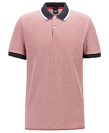 BOSS Men's Parlay 42 Regular-Fit Polo Shirt