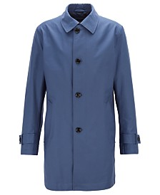 BOSS Men's Dain1 Button-Through Overcoat