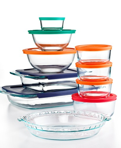 Pyrex 19-Pc. Food Storage Container Set