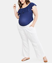 885301c8e8614 White Maternity Clothes For The Stylish Mom - Macy's