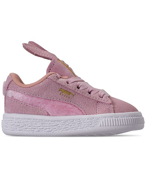 prix compétitif bba4b 03666 Puma Toddler Girls' Suede Easter Casual Sneakers from Finish ...