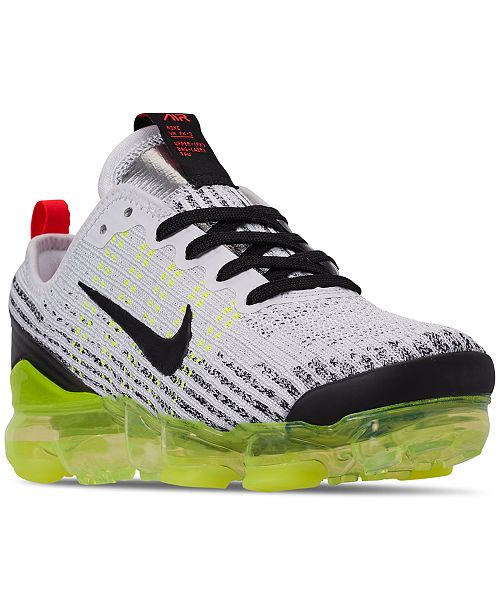 041e5082793 Nike Boys  Air VaporMax Flyknit 3 Running Sneakers from Finish Line ...