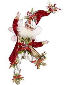 Candy Cane Fairy, Small - 10 Inches