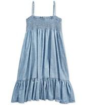 64b741dfd Polo Ralph Lauren Big Girls Cotton Chambray Dress