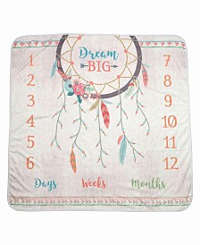 "Lillian Rose ""Dream Big"" Boho Baby Blanket"