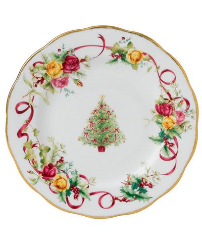 Royal Albert Old Country Roses Holiday Salad Plate