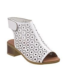 Every Step Open Toe Heel Sandals