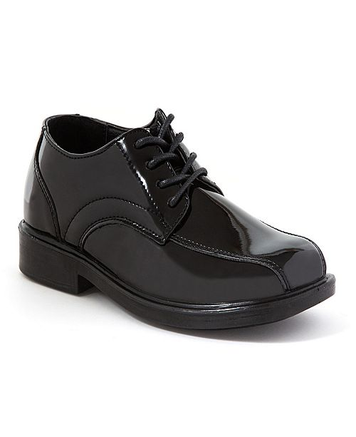 DEER STAGS Toddler, Little, and Big Boys Gabe Lace-Up Dress Comfort Shoe