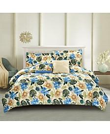 Lanai 5-Piece Comforter Set, Full/Queen