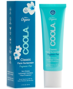 Fragrance-Free Classic Face Sunscreen Spf 50