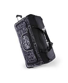 "Ecko Unltd Alpha 32"" Rolling Duffel Bag"