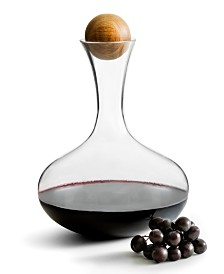 Sagaform Red Wine Decanter with Oak Stopper