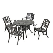 Windley Outdoor 5-Pc. Dining Set, Quick Ship