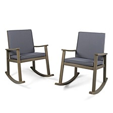 Candel Outdoor Rocking Chair, Set of 2