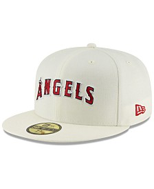 New Era Los Angeles Angels Vintage World Series Patch 59FIFTY Cap