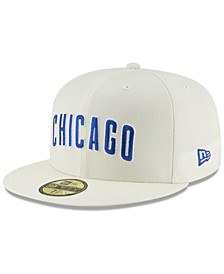 Chicago Cubs Vintage World Series Patch 59FIFTY Cap