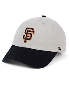 '47 Brand San Francisco Giants Gray 2-Tone CLEAN UP Cap