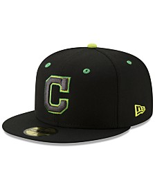 New Era Cleveland Indians Night Moves 59FIFTY Fitted Cap