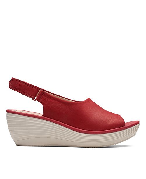 b3dd0c01cef0 Clarks Collection Women s Reedly Shania Wedge Sandals   Reviews ...