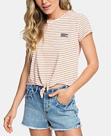 Roxy Juniors' Magical Sunset Cropped T-Shirt