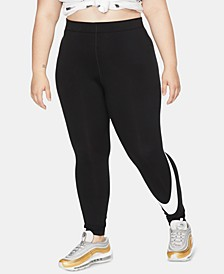 Plus Size Leg A See Leggings