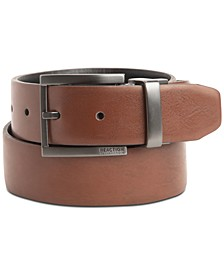 Men's Comfort Stretch Leather Casual Belt