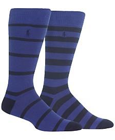 Polo Ralph Lauren Men's Two-Pack Stripe Socks