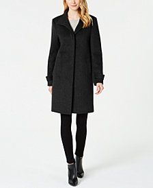 Jones New York Single-Breasted Coat