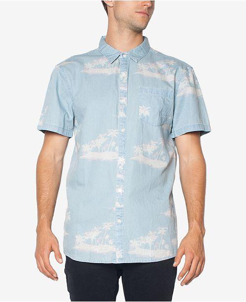 Zeegeewhy Men's Party Cotton Button-Down Shirt