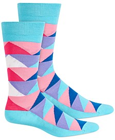 Men's Triangle Socks, Created for Macy's