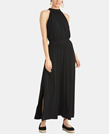 RACHEL Rachel Roy Avena Halter Maxi Dress