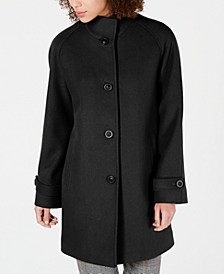Petite Single-Breasted Walker Coat