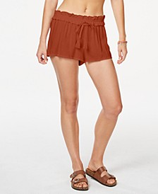 Juniors' Cover-Up Shorts, Created for Macy's