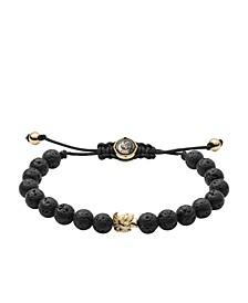 Men's Stackables Lava Beaded Bracelet