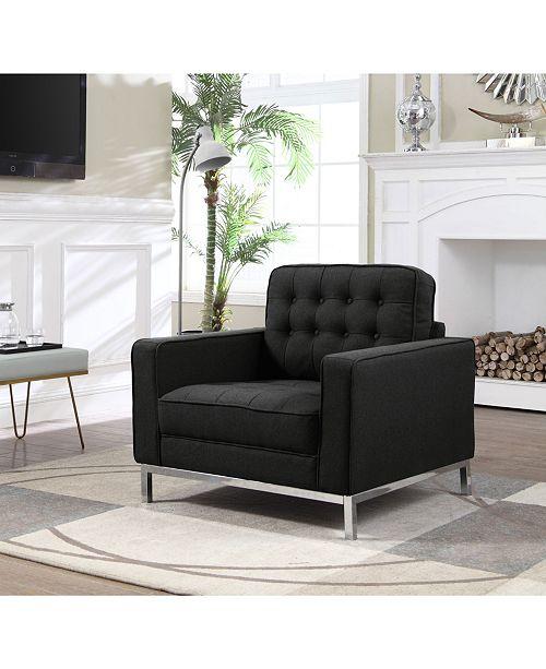 Chic Home Draper Club Chair