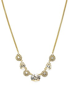 "Cubic Zirconia Collar Necklace, 16"" + 1"" extender, Created for Macy's"