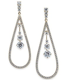 Eliot Donor 18k Gold  or Silver Plated Brass Earrings