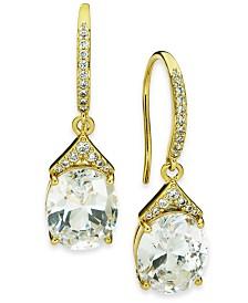 Eliot Danori Crystal Teardrop Earrings, Created for Macy's