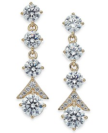 Crystal Multi-Drop Earrings, Created for Macy's