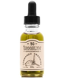 Brooklyn Grooming Commando Grooming Oil, 1-oz.