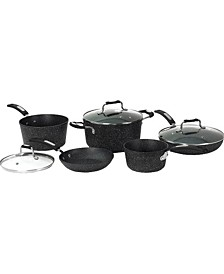 The Rock 8 Piece Cookware Set