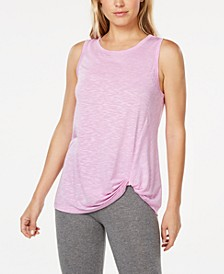 Knot-Front Tank Top, Created for Macy's