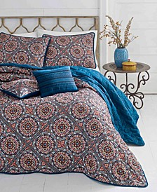 Sitka Suzani Quilt Set, Full/Queen