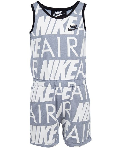 Nike Toddler Girls Nike Air Modern-Fit Logo Romper