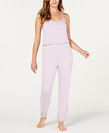 Knit Pajama Jumpsuit, Created for Macy's