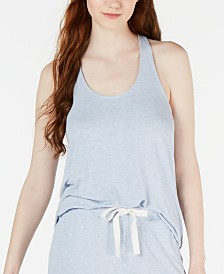 Alfani Knit Super Soft Pajama Tank Top, Created for Macy's