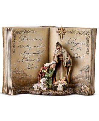 Bible Nativity Scene